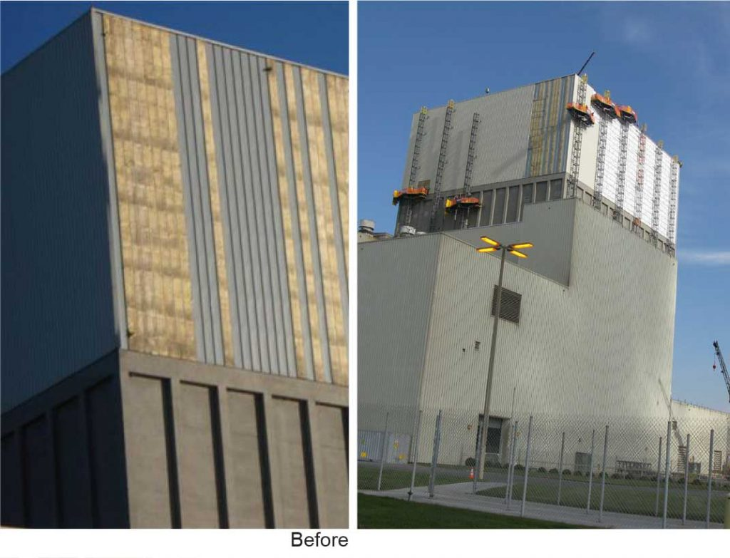 Reactor Building Siding Replacement